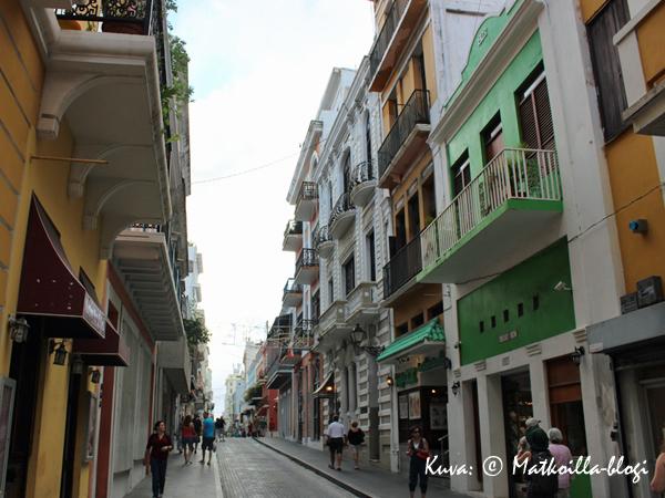 Calle_Fortaleza, San Juan. Kuva: © Matkoilla-blogi