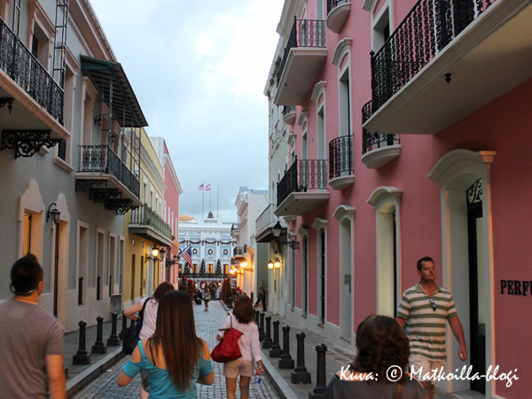 Calle Fortaleza, San Juan. Kuva: © Matkoilla-blogi