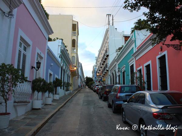 Calle San Francisco, San Juan. Kuva: © Matkoilla-blogi