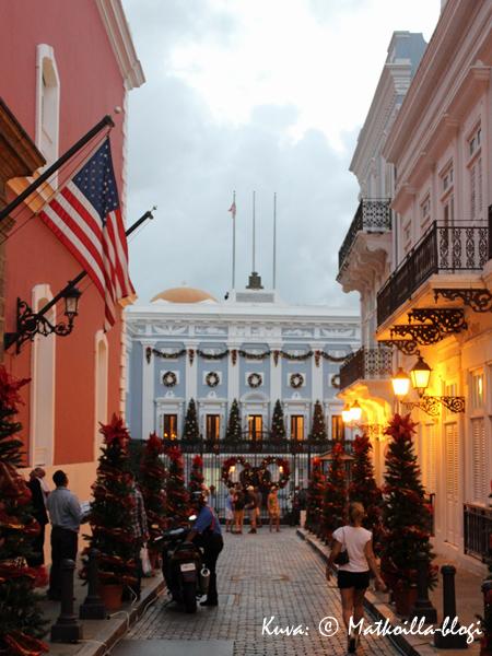 La Fortaleza, San Juan. Kuva: © Matkoilla-blogi