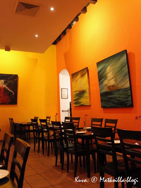 Restaurante Airenumo, San Juan. Kuva: © Matkoilla-blogi