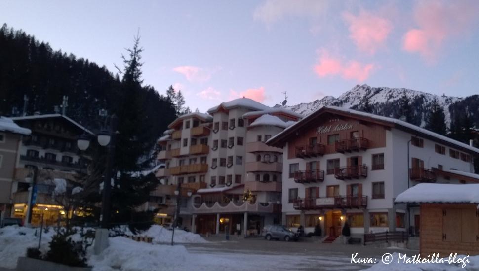 Madonna di Campiglio: Hotel Ariston. Kuva: © Matkoilla-blogi