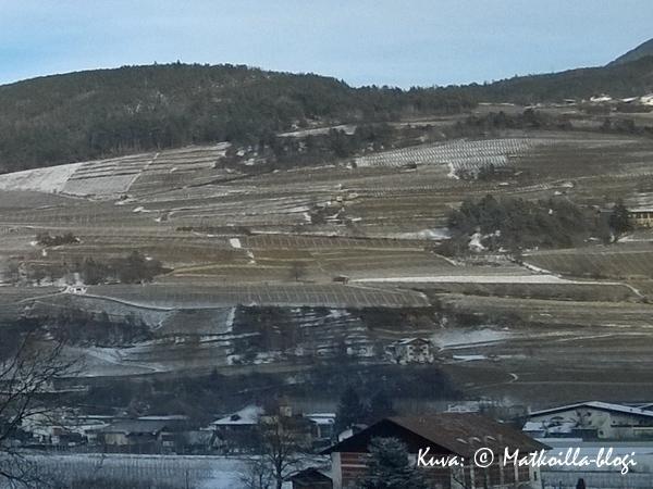 Brennerautobahn, Italian puolella Alto Adigessa. Kuva: © Matkoilla-blogi