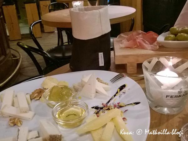 Aperitivo Ferrari Lounge, Madonna di Campiglio. Kuva: © Matkoilla-blogi
