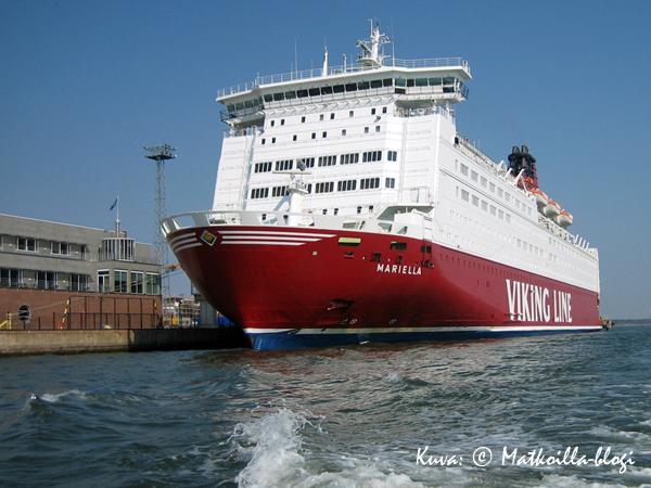 """Mariella - Viking Linen tänä vuonna 30 vuotta täyttävä """"vanharouva"""". Kuva: © Matkoilla-blogi"""