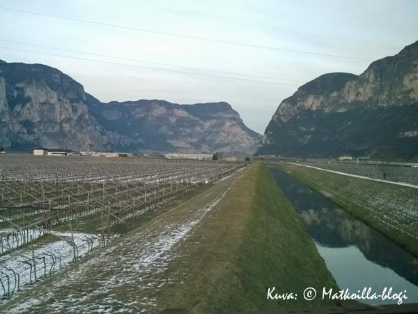 San Michele, Trentinon rajalla. Kuva: © Matkoilla-blogi