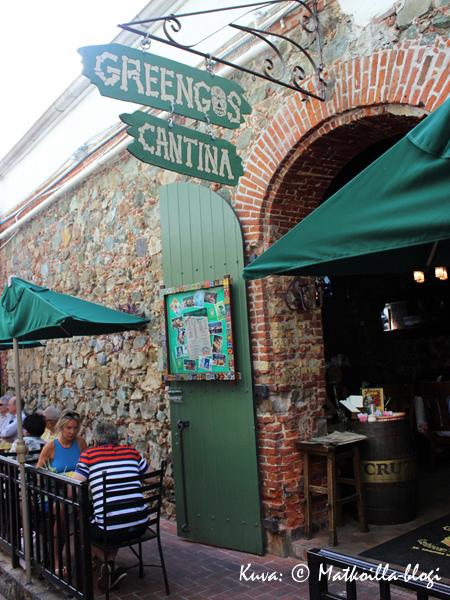 Greengos Canteen, St.Thomas. Kuva: © Matkoilla-blogi