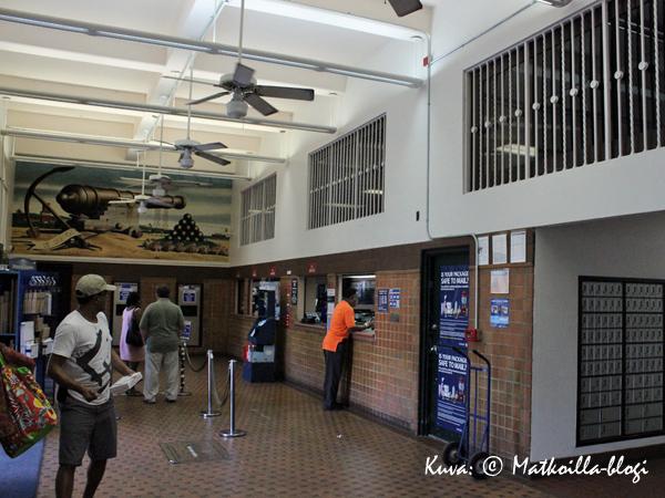 Charlotte Amalien Postitalo. Kuva: © Matkoilla-blogi