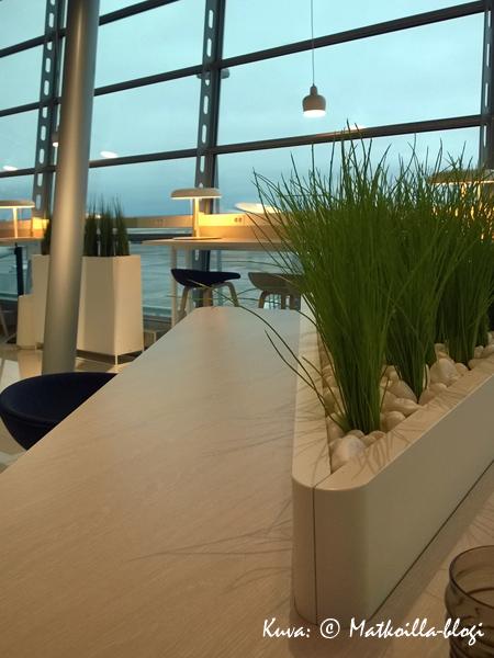 Finnairin Schengen-lounge, terminaali 2, Helsinki-Vantaa. Kuva: © Matkoilla-blogi