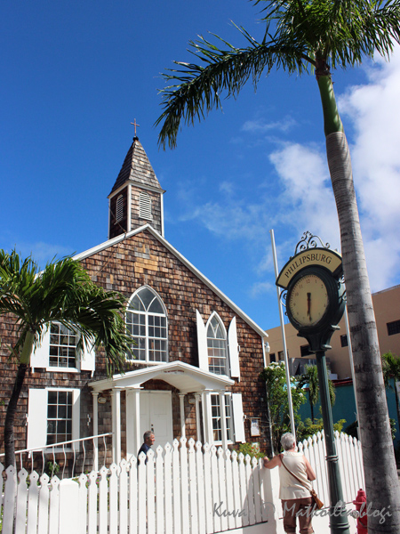 Philipsburg, St. Maarten. Kuva: © Matkoilla-blogi