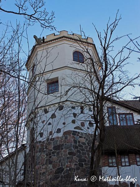 Tarvaspään tuunnusomainen torniosa. Kuva: © Matkoilla-blogi
