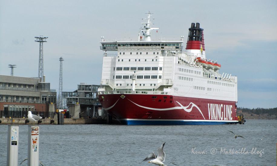 Viking Linen Mariella palasi tänään liikenteeseen faceliftin jälkeen. Kuva: © Matkoilla-blogi