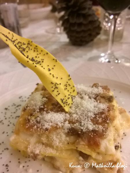Primi - Lasagne. Kuva: © Matkoilla-blogi