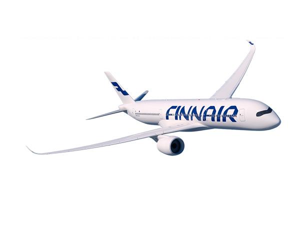 Finnairin Airbus 350XWB kaartaa liikenteeseen lokakuussa 2015. Kuva: © Finnair