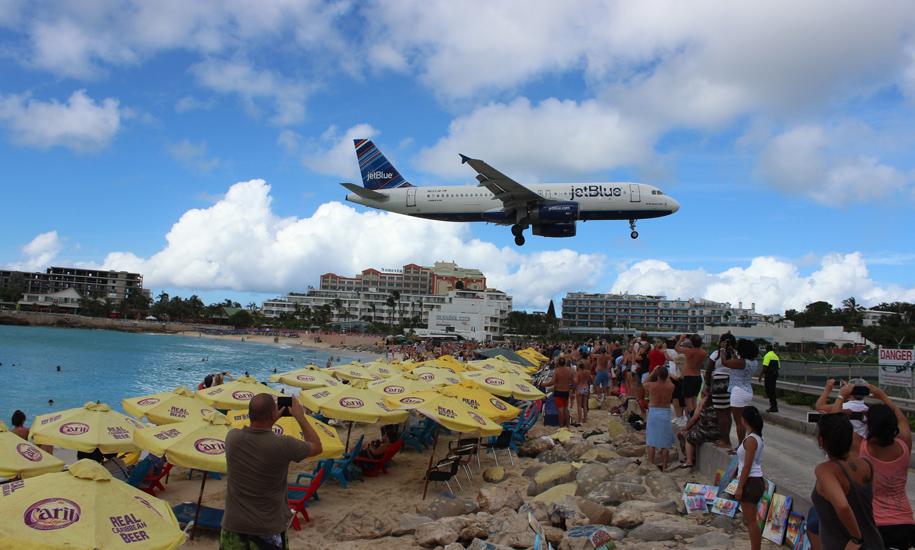 Maho Beach, St.Maarten. Kuva: © Matkoilla-blogi