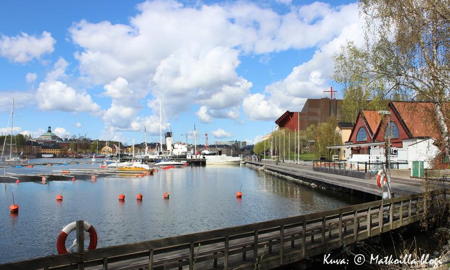 Djurgårdenin rantamaisemaa. Kuva: © Matkoilla-blogi