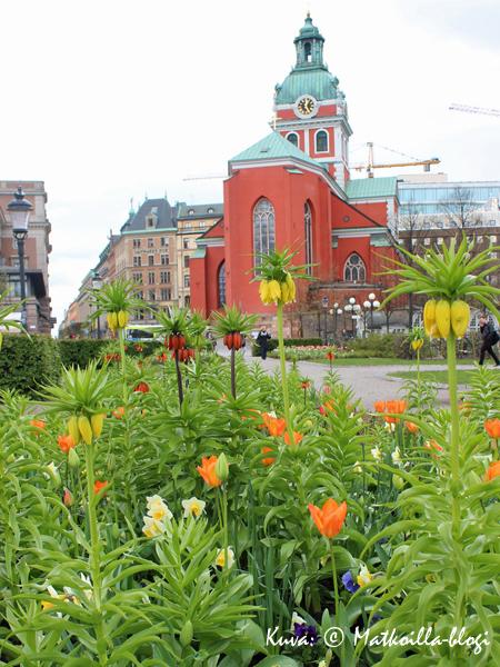 Kungsträdgården, Jakobin kirkko. Kuva: © Matkoilla-blogi