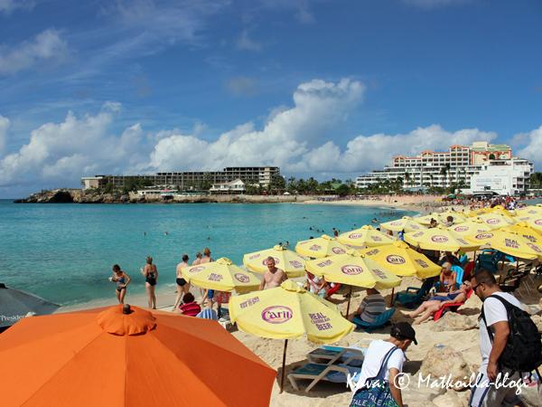 Maho Beach. Kuva: © Matkoilla-blogi