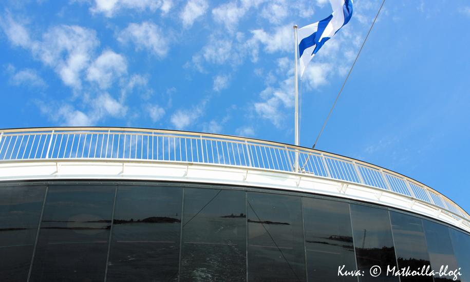 Viking Grace ja maisema. Kuva: © Matkoilla-blogi