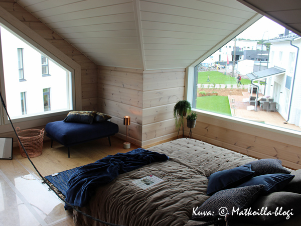 Asuntomessut 2015: 26 - Villa Kapee, makuuhuone. Kuva: © Matkoilla-blogi