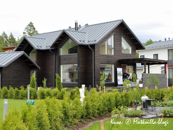 Asuntomessut 2015: 26 - Villa Kapee, ulkokuva. Kuva: © Matkoilla-blogi