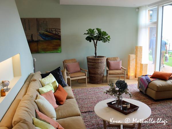 Asuntomessut 2015: 31 - Casa del Limon, olohuone. Kuva: © Matkoilla-blogi
