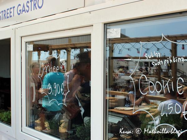 Street Gastro, Hernesaaren Ranta. Kuva: © Matkoilla-blogi