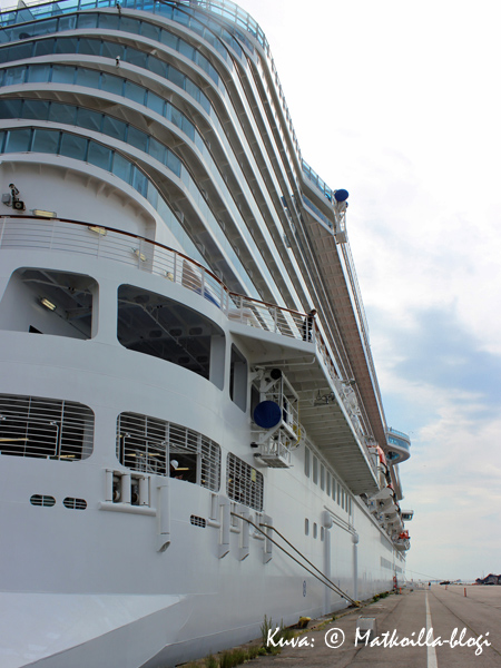 Regal Princess. Kuva: © Matkoilla-blogi