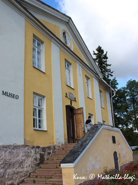 Loviisan museo Komendantintalossa. Kuva: © Matkoilla-blogi