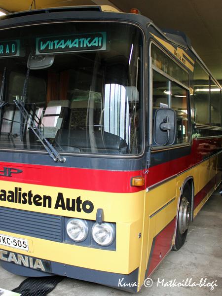 Ikaalisten Auton Delta 400 (vm 1976) oli aikansa ilmestys. Kuva: © Matkoilla-blogi