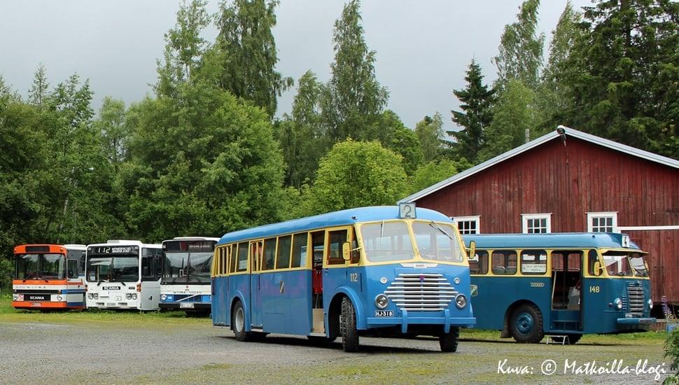 Lavian linja-automuseo. Kuva: © Matkoilla-blogi