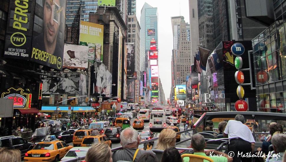 Keskiviikon kuva: Broadway, New York 2012. Kuva: © Matkoilla-blogi