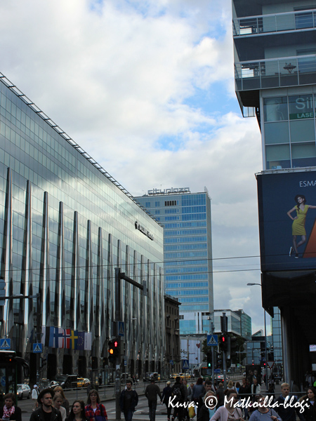 Tallinnan uusi keskusta. Kuva: © Matkoilla-blogi