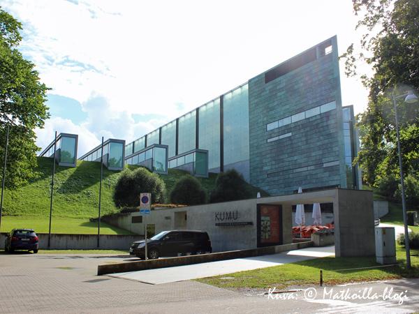 Taidemuseo Kumu. Kuva: © Matkoilla-blogi