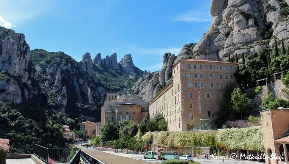 Kuukauden kuva: Montserratin luostari, syyskuussa 2013. Kuva: © Matkoilla-blogi