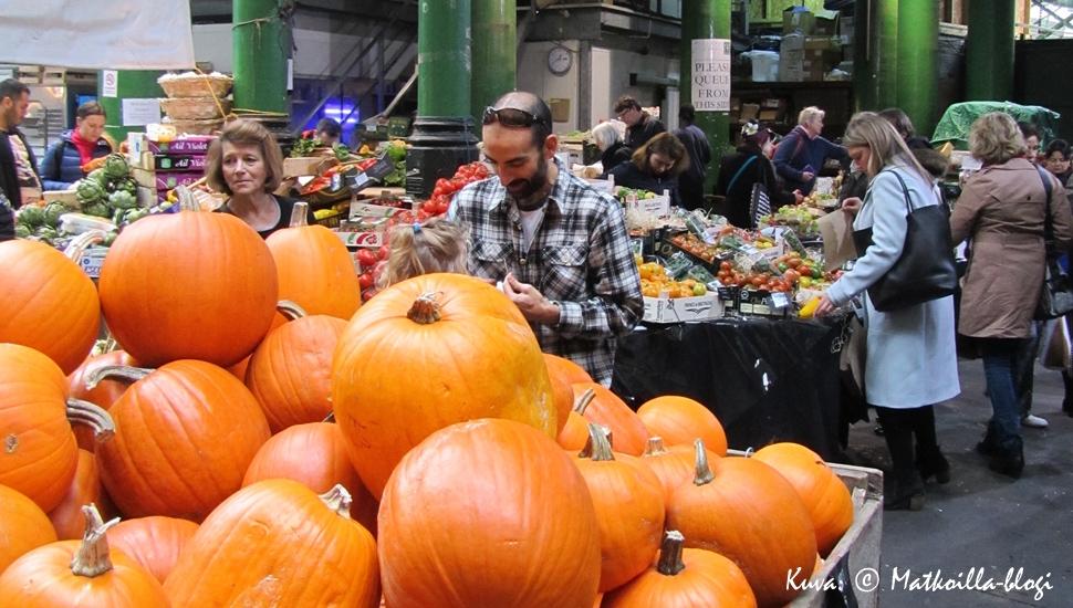 Keskiviikon kuva: Borough Market, Lontoossa. Kuva: © Matkoilla-blogi