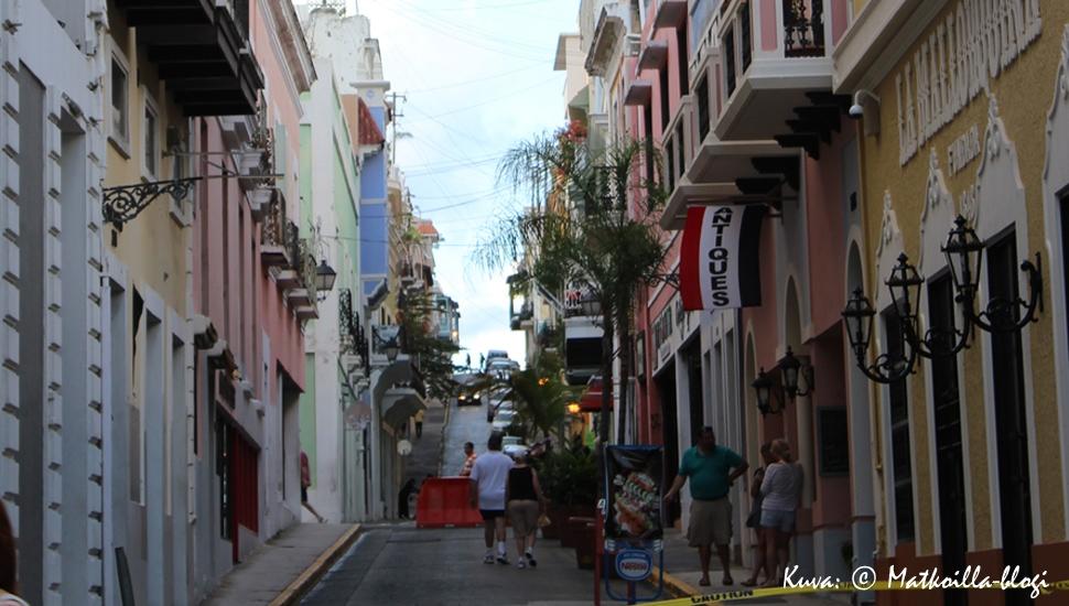 Kuukauden kuva: San Juan, Puerto Rico, joulukuussa 2014. Kuva: © Matkoilla-blogi