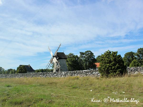 Fårö, tuulimylly. Kuva: © Matkoilla-blogi