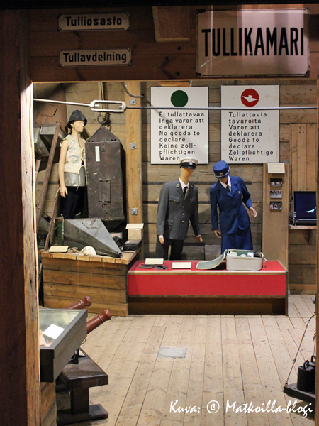 Tullin toimintaakin esitellään museossa. Kuva: © Matkoilla-blogi