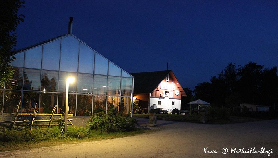 Lilla Bjers Gårdskrog, Västerhejdessä, Visbyn eteläpuolella. Kuva: © Matkoilla-blogi