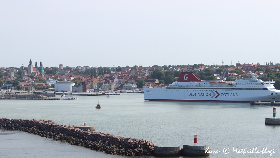 Visby - ruusujen kaupunki odottaa meitä. Kuva: © Matkoilla-blogi