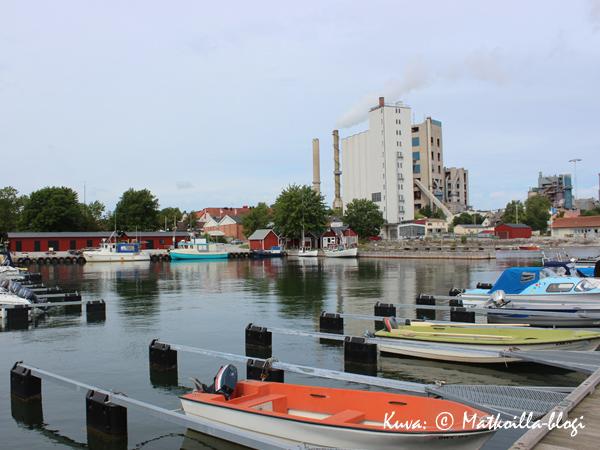Sliten satama. Kuva: © Matkoilla-blogi