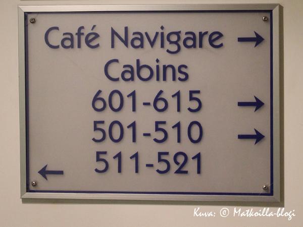 S/s Borella hyttien lukumäärä oli huomattavasti pienempi kuin nykylaivoilla; yhteensä 119 hyttiä. Kuva: © Matkoilla-blogi