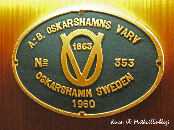 S/s Bore on rakennettu Oskarshamnin telakalla vuonna 1960. Kuva: © Matkoilla-blogi