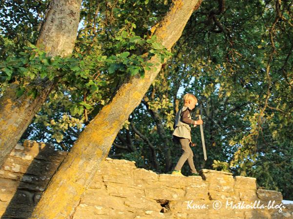 Keskiaikapoika. Kuva: © Matkoilla-blogi
