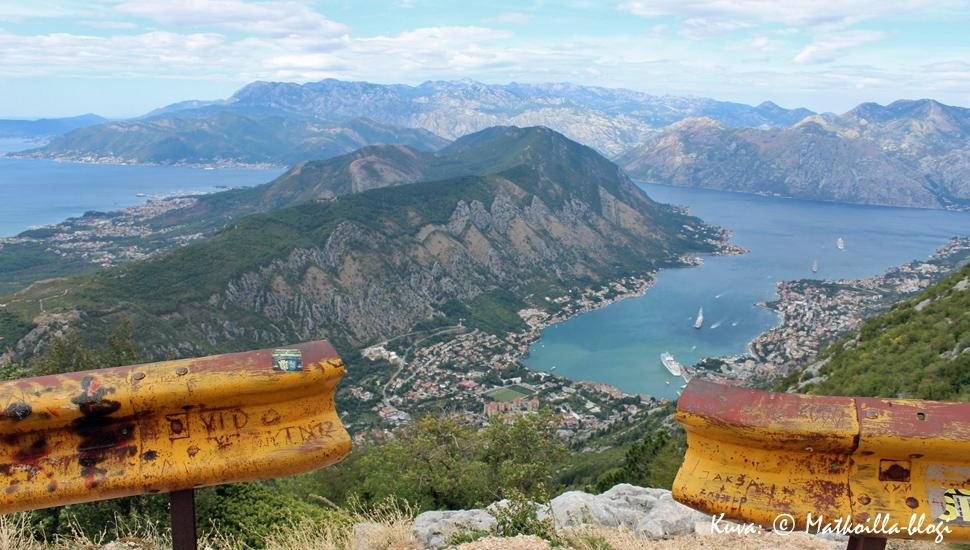 Kotor-lahti, Montenegro. Kuva: © Matkoilla-blogi