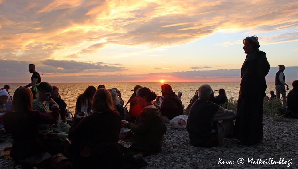 Keskiaikaviikon avajaiset. Kuva: © Matkoilla-blogi