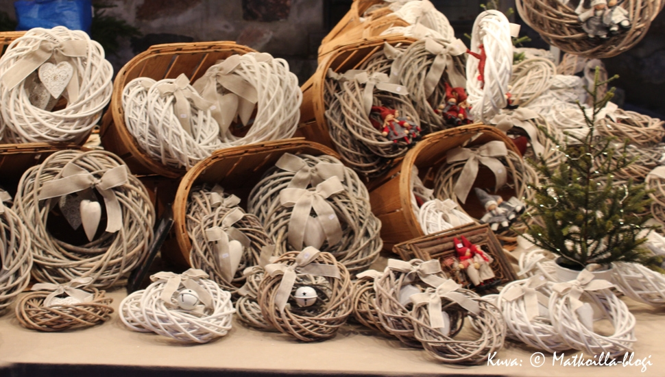 Porvoon vanhankaupungin joulumarkkinoilla. Kuva: © Matkoilla-blogi