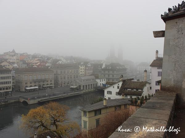 Zürich_näköala_Limmat_Kuva_©_Matkoilla-blogi