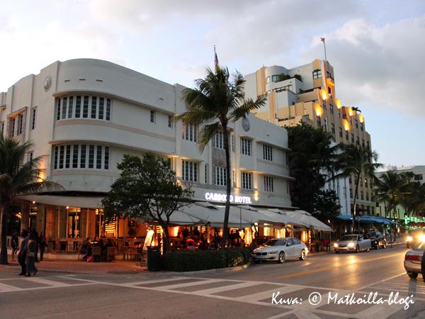 Cardoso Hotel, jonka omistaa Gloria Estefan. Kuva: © Matkoilla-blogi